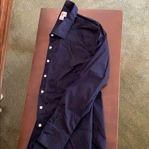 Navy jcrew blouse